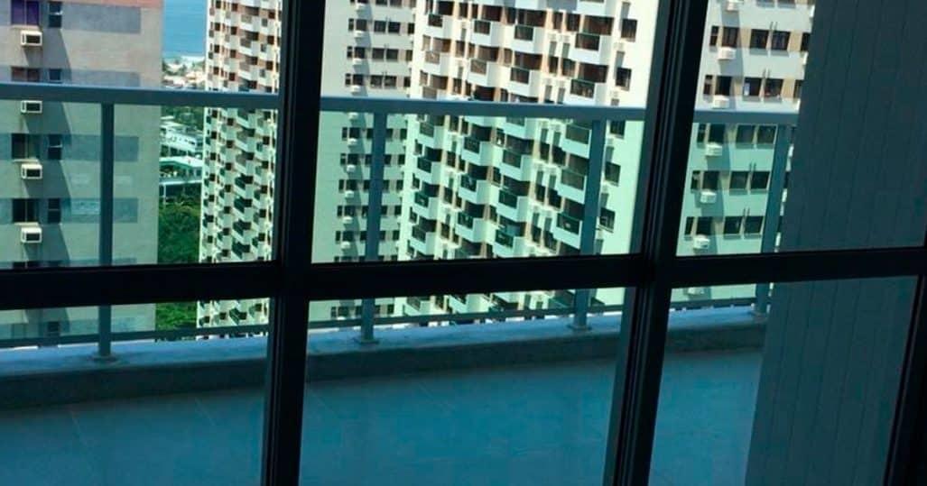 Insulfilm residencial em apartamento na Barra da Tijuca – RJ!