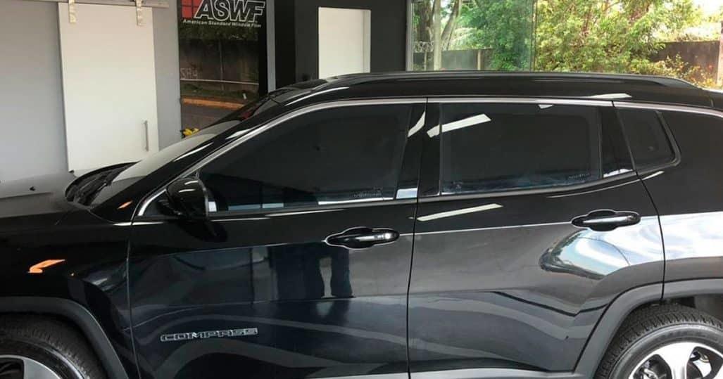 Insulfilm Automotivo Aplicado em SUV no RJ!