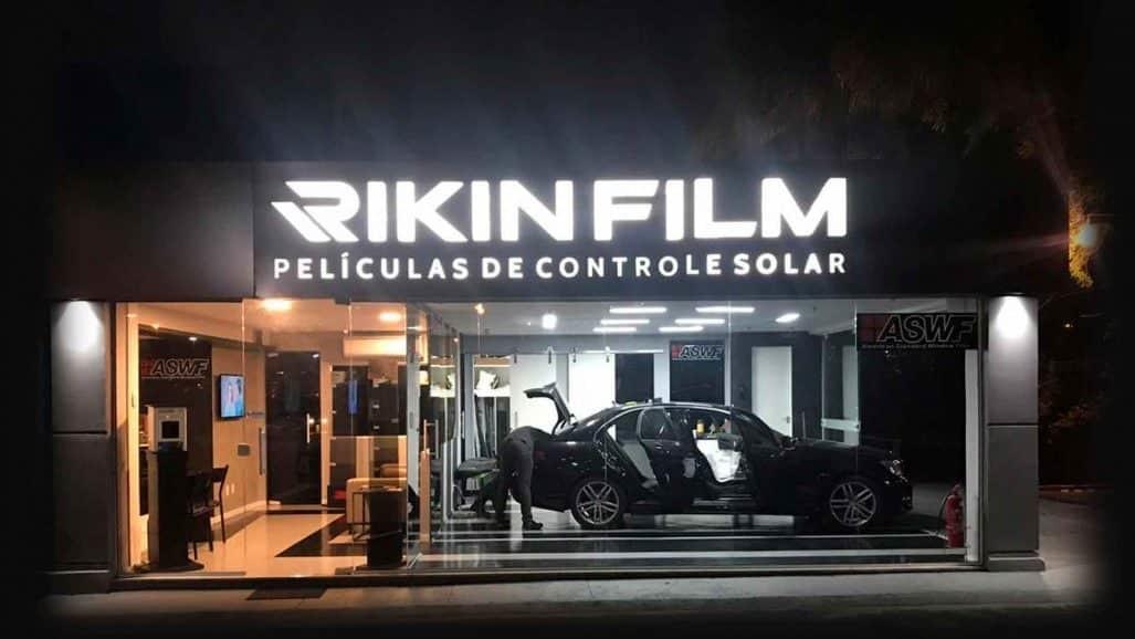 película automotiva rj