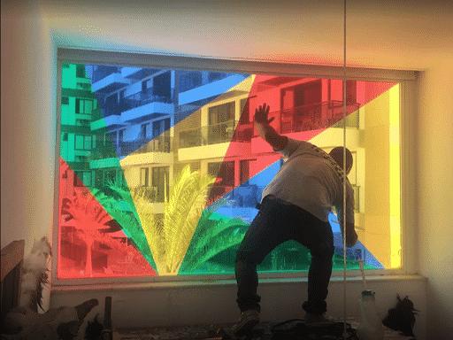 Insulfilm colorido