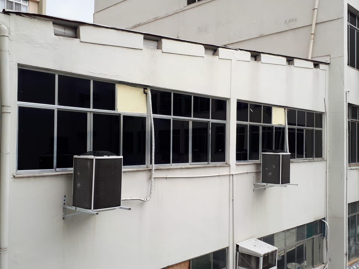 insulfilm em prédio comercial no rj