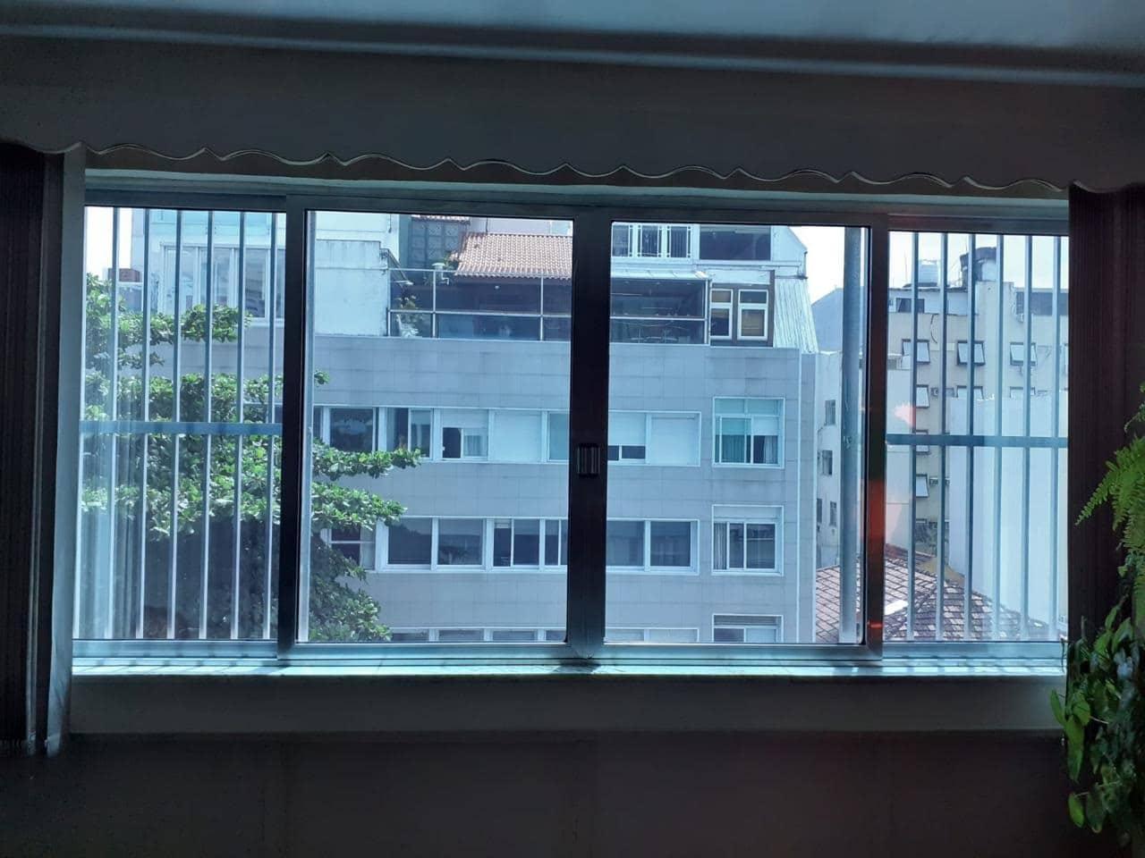 Antes - insulfilm residencial copacabana rj